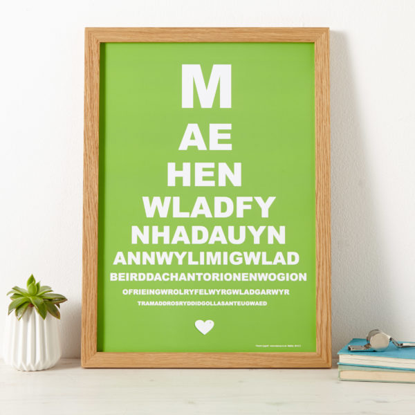 Welsh National Anthem Print