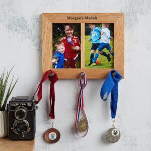 Medal hanger photo frame