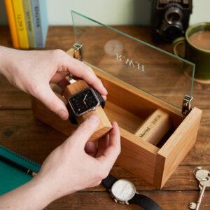 Watch holder watch box