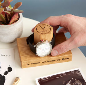 Time and date watch stand