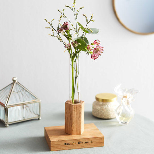 Personalised Flower Stem Vase