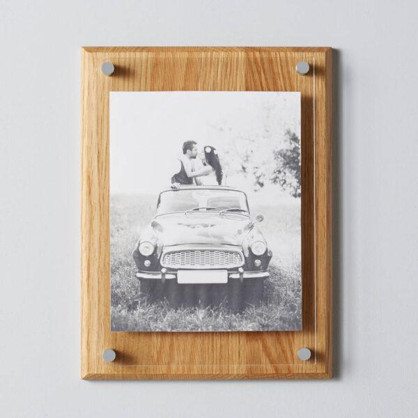 A4 Oak Picture Frame