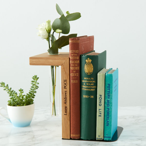 Bookend vase