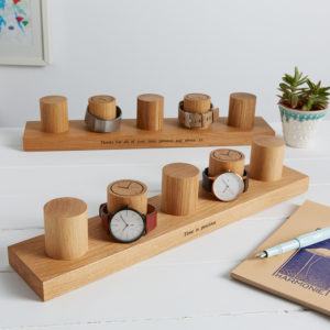 Watch stand for 5 watches