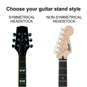 Types of Headstock. Symmetrical - Non-Symmetrical.