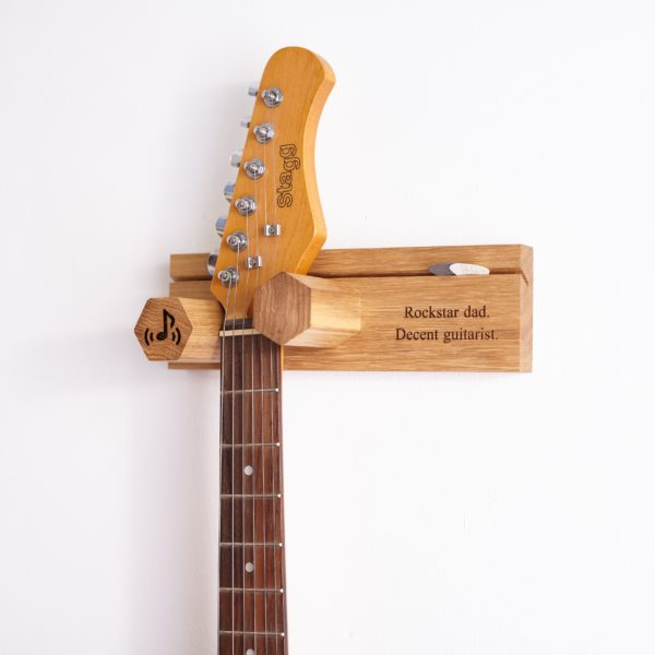 Electric Wall Mounted Personalised Guitar Stand