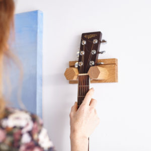 Wall Mounted Small Guitar Hex