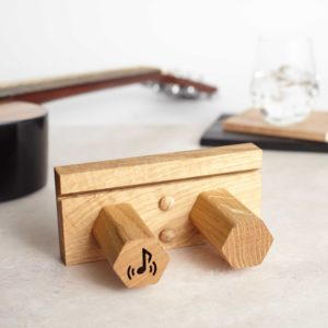 Small Guitar Stand Front View